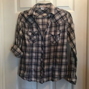 Body Central long or 3/4 sleeve button up